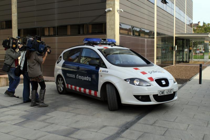 Una imatge d'arxiu d'un vehicle dels Mossos d'Esquadra