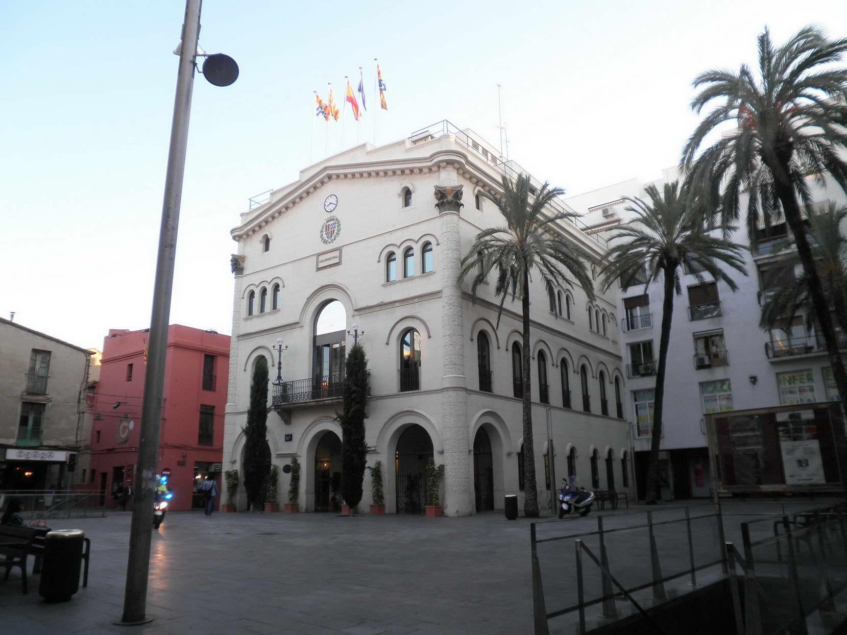 Una imatge de l'Ajuntament de Badalona