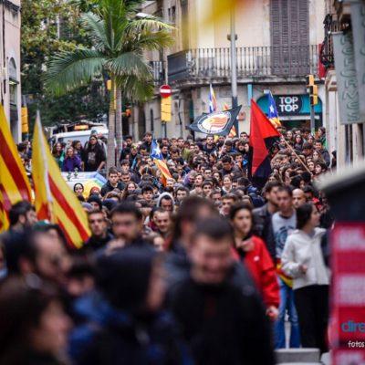 Imatge de la vaga general del 8-N