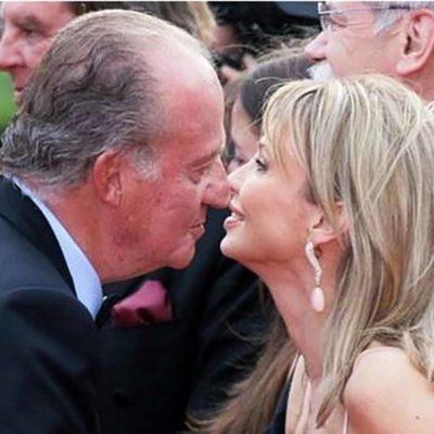 Juan Carlos I, amb Corinna Larsen