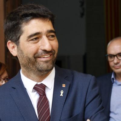 Pla curt del conseller de Polítiques Digitals i Administració Pública, Jordi Puigneró