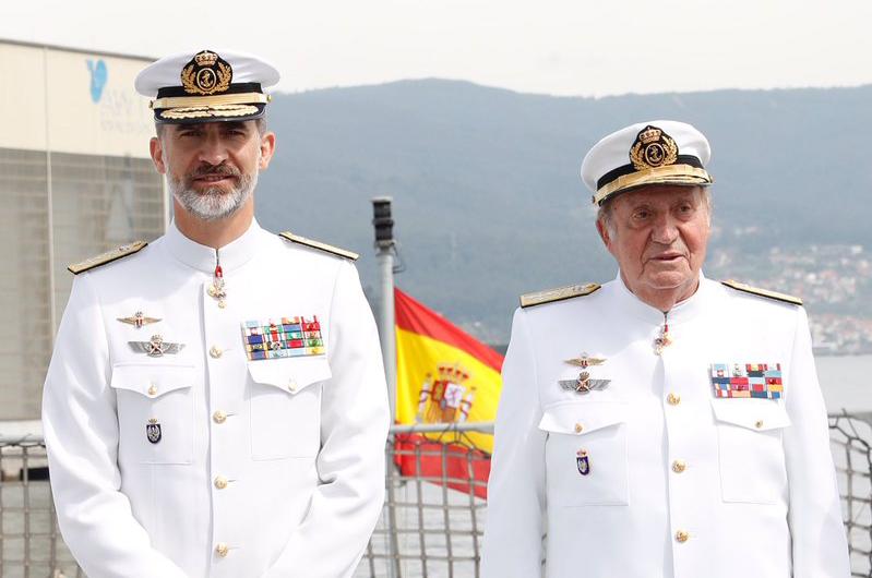 Felipe VI i Juan Carlos I / @CasaReal
