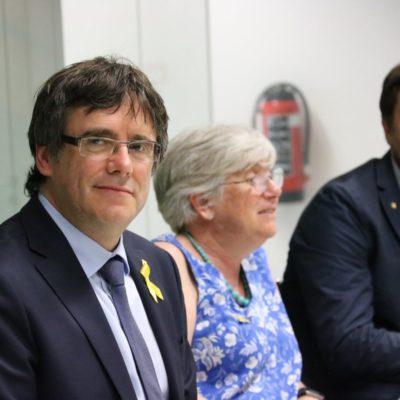 Líders independentistes exiliats a Bèlgica