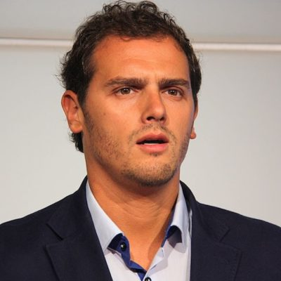 Albert Rivera, líder de Cs