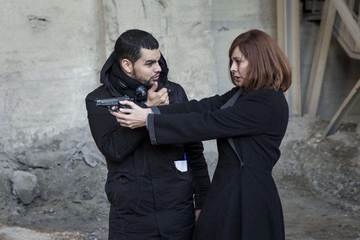 El director d''El pacto', David Victori, i l'actriu Belén Rueda / ACN