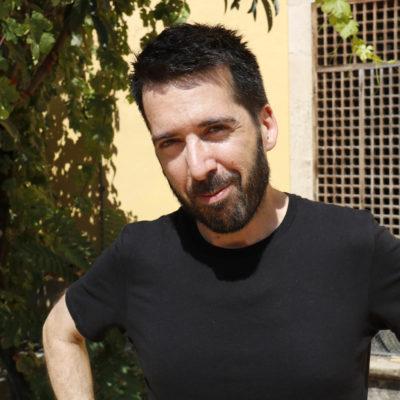 Pla mig del director artístic de FiraTàrrega, Jordi Duran, entrevistat per l'ACN, el 23 d'agost de 2018 / ACN