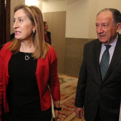 La presidenta del Congrés, Ana Pastor, i el director del CNI, Féliz Sanz Roldán