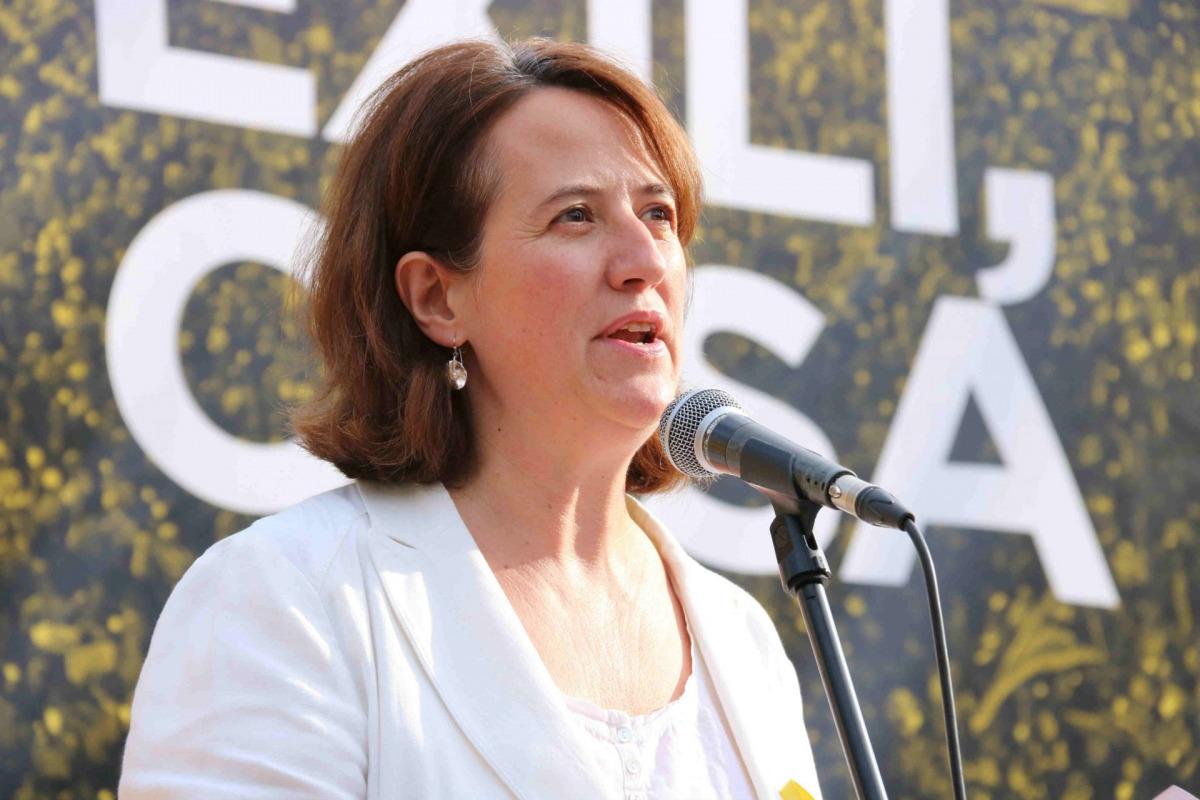 La presidenta de l'ANC, Elisenda Paluzzie