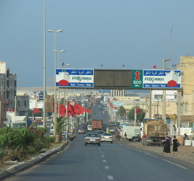 Beni Enzar, frontera del Marroc amb Melilla