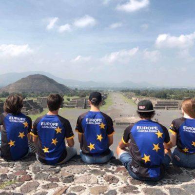 L'equip català que representa Europa/Twitter @jordiPuignero