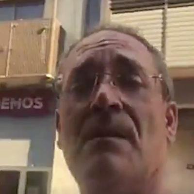 Una captura de pantalla del vídeo/ Twitter @Bernat_Castro