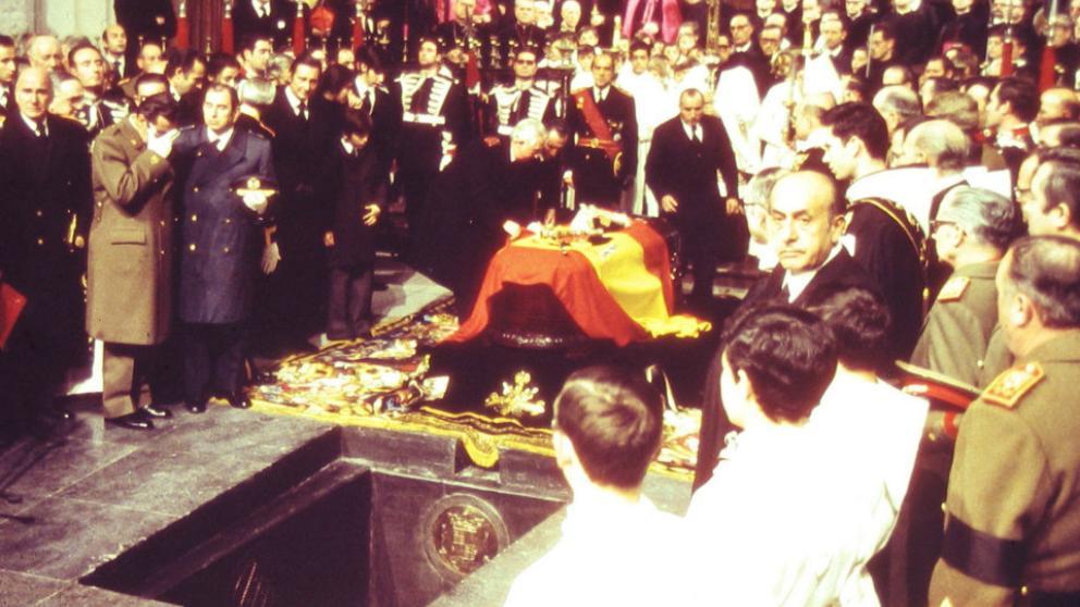 L'enterrament de Franco a El Valle de los Caídos