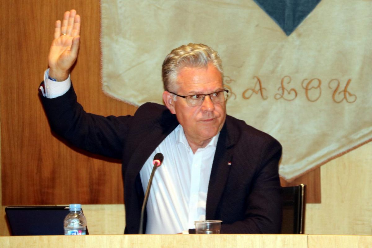 Pla mig de l'alcalde de Salou, Pere Granados,