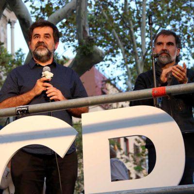 Jordi Sánchez i Jordi Cuixart, en una imatge d'arxiu/ Andrea Zamorano