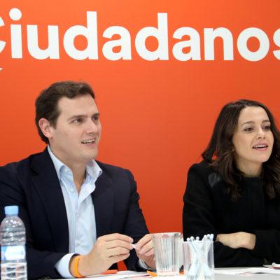 Albert Rivera i Inés Arrimadas, en una imatge d'arxiu/Tània Tàpia