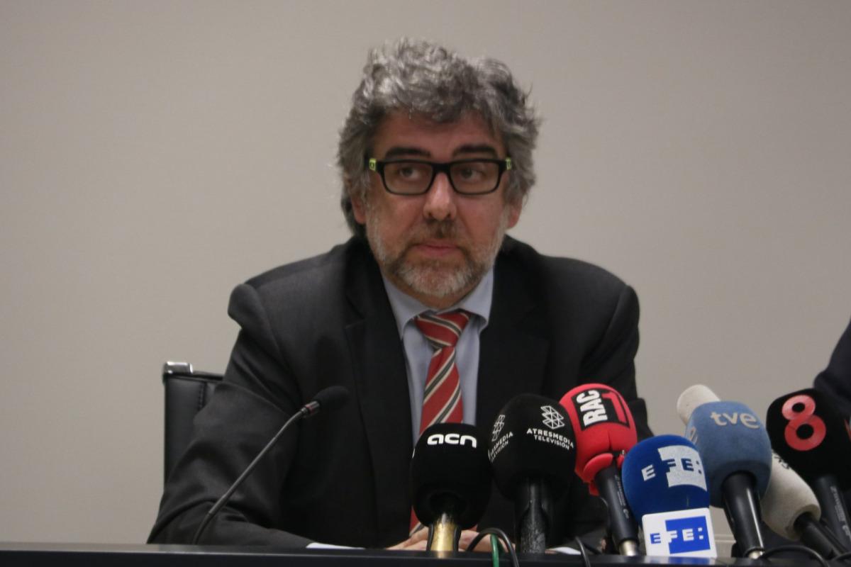 L'advocat Jordi Pina, en una imatge d'arxiu