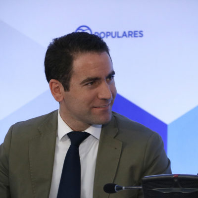 Teodoro García Egea, en una imatge d'arxiu