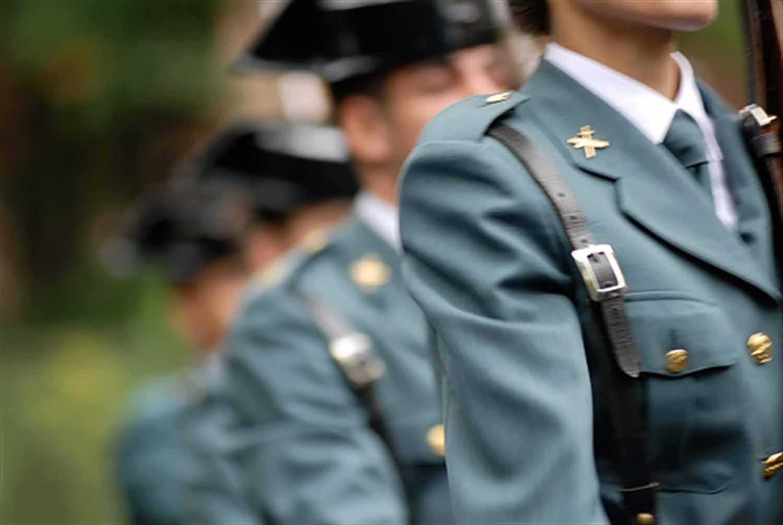 Imatge d'arxiu d'agents de la Guàrdia Civil/ EP