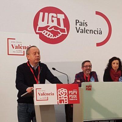 Ismael Sáez secretari general de la UGTPV