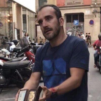 El policia espanyol que va agredir Jordi Borràs