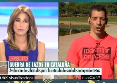 El neonazi Raúl Macià a Tele5