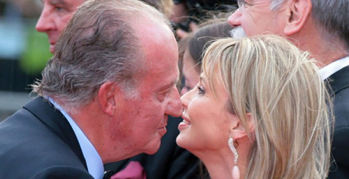 Juan Carlos I amb Corinna zu Sayn-Wittgenstein