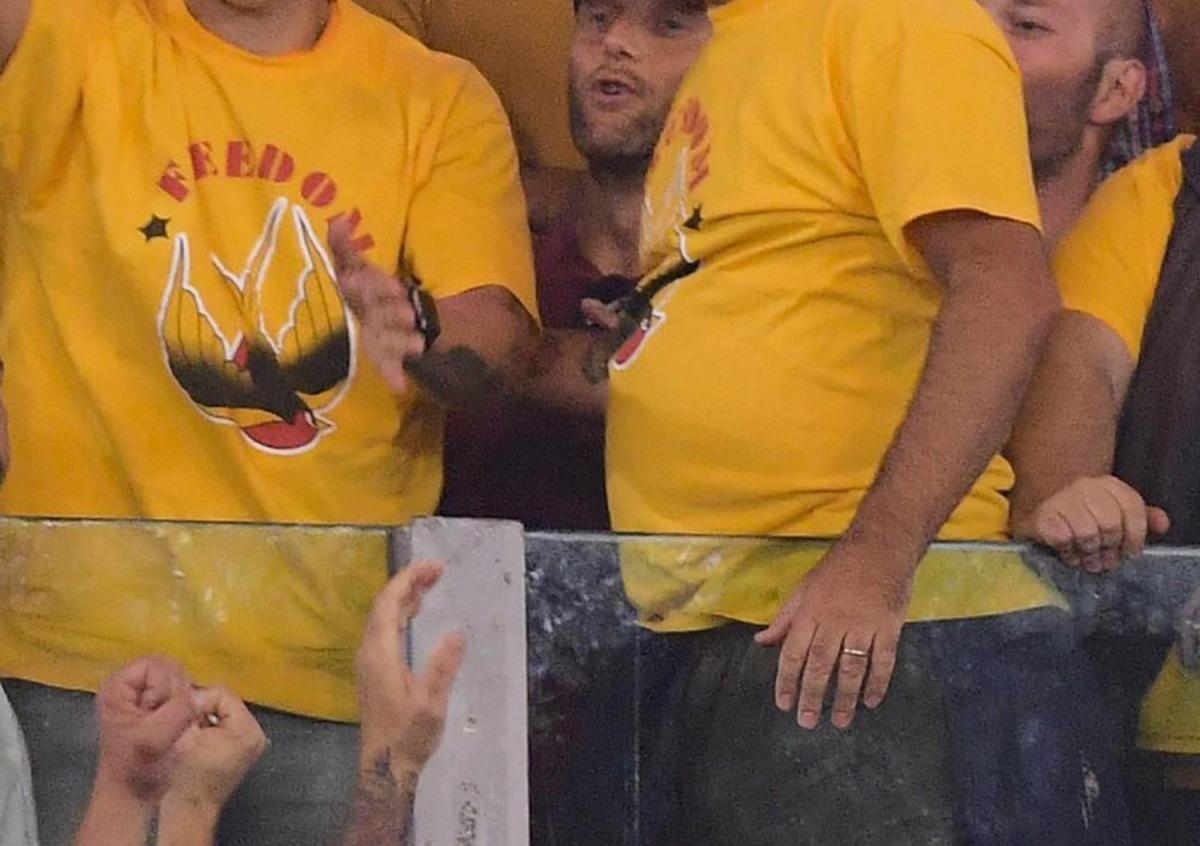Així demanen els ultres de la Roma la llibertat dels ultres/ ©LaPresse