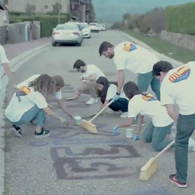 Una captura de pantalla del vídeo/ Twitter @CiudadanosCs