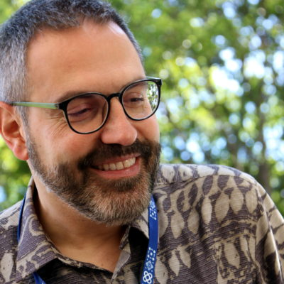 El director de l'Institut Ramon Llull, Manuel Forcano, al Festival de cinema de Guadalajara / ACN