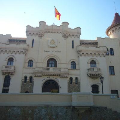 La caserna del Bruch, a Barcelona