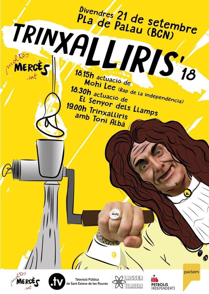 Cartell de presentació del Trinxalliris