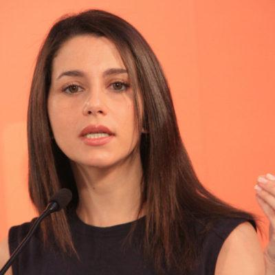 Inés Arrimadas, líder de Ciudadanos a Catalunya