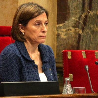 Carme Forcadell presidint el Parlament