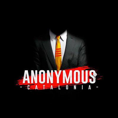 Anonymous Catalunya/ Twitter @anoncatalonia