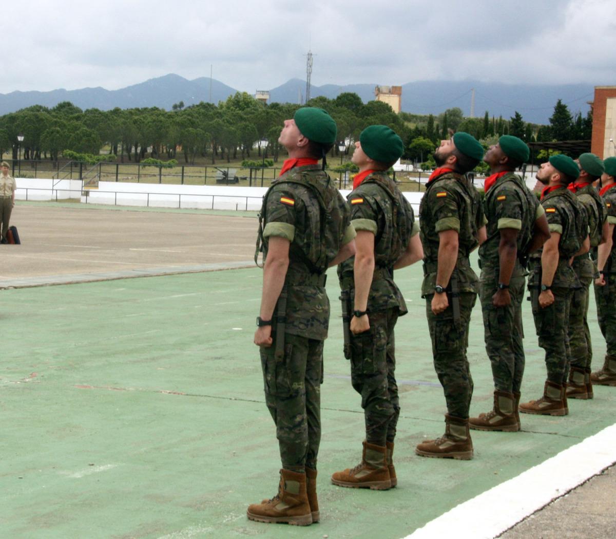Un grup de soldats espanyols, en una imatge d'arxiu