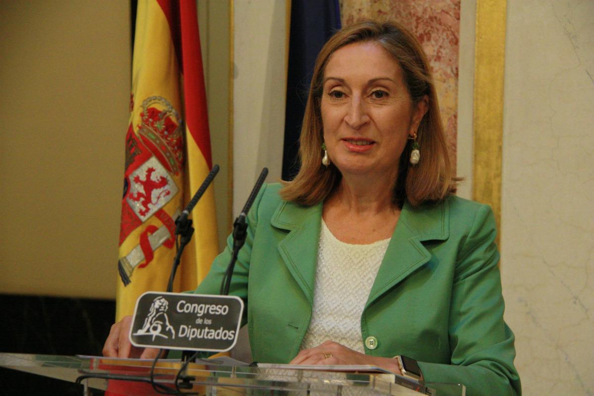 Ana Pastor, en una imatge d'arxiu