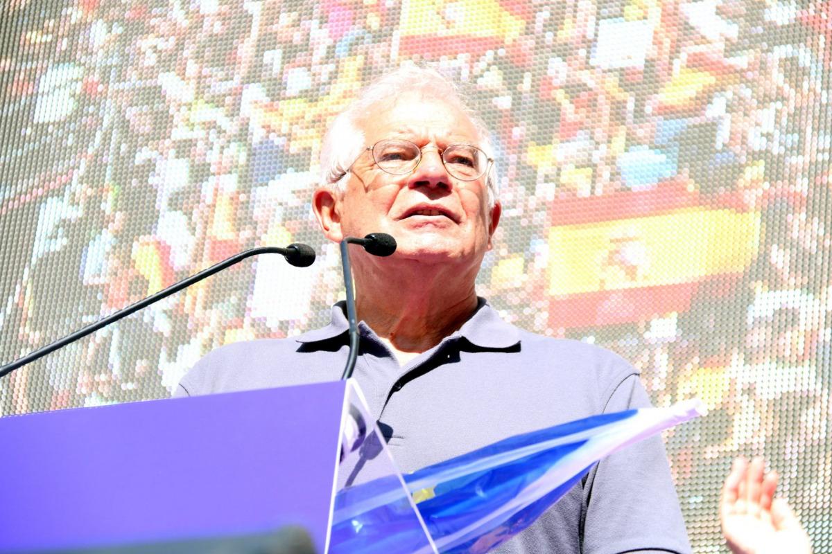 El ministre socialista, Josep Borrell, en una imatge d'arxiu