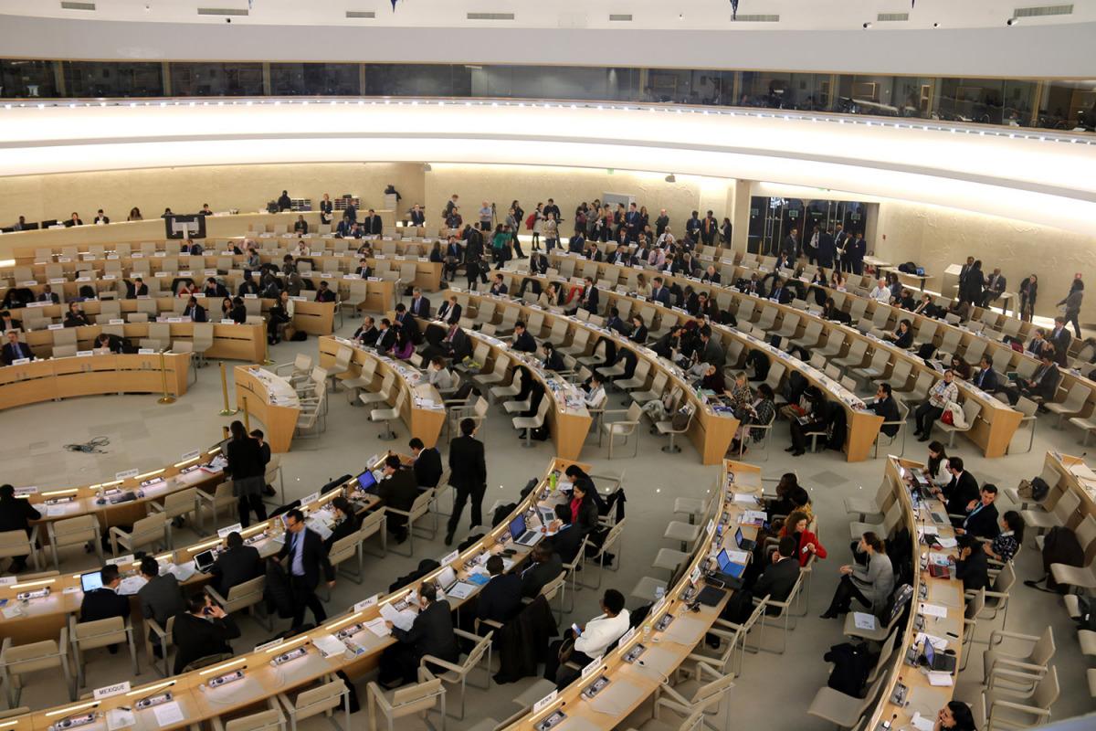 La 37ena sessió del Consell de Drets Humans de l'ONU, a Ginebra/ Bernat Vilaró