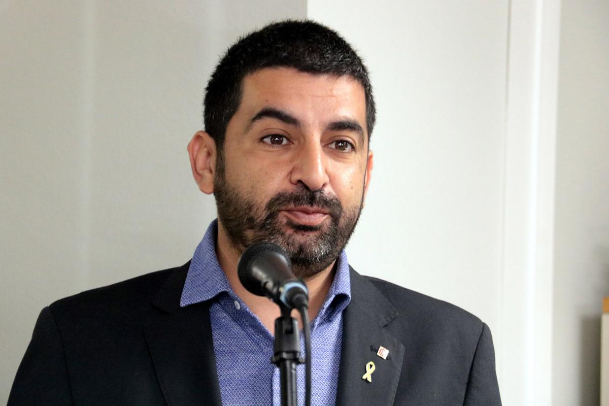 El conseller de Treball, Afers Socials i Famílies, Chakir el Homrani/ Salvador Miret