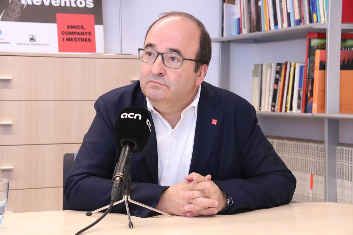 Iceta, en una imatge d'arxiu/ Bernat Vilaró