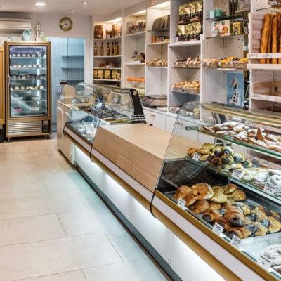 La pastisseria Gironès, a Sant Feliu de Guíxols