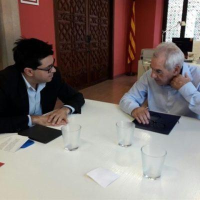 Gerardo Pisarello i Ernest maragall