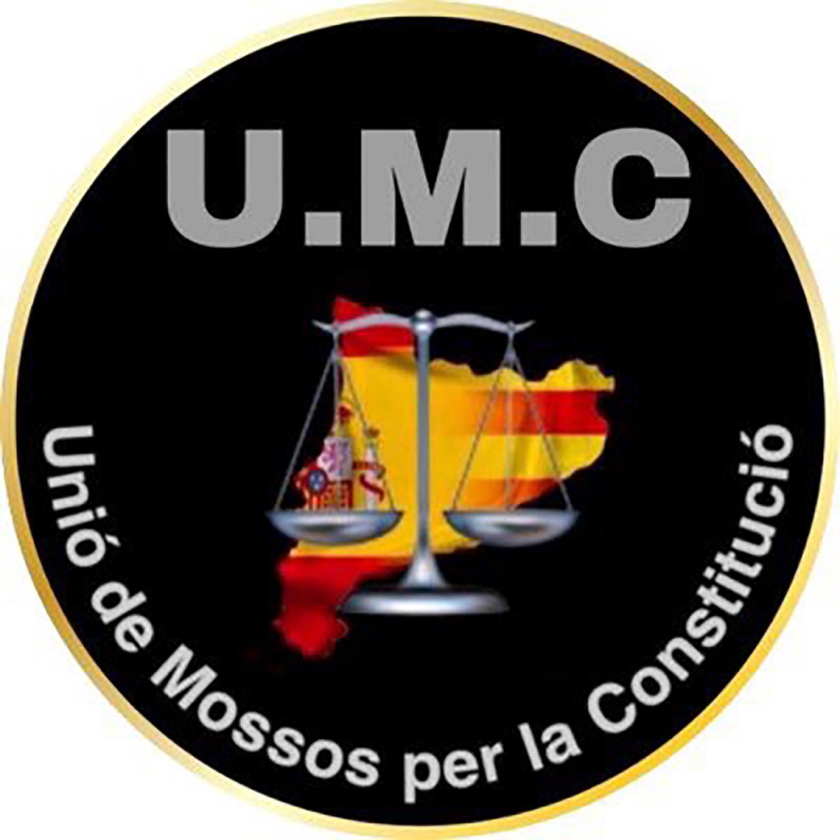 El logo d'Unió de Mossos per la Constitució/ Twitter @UMCmossos