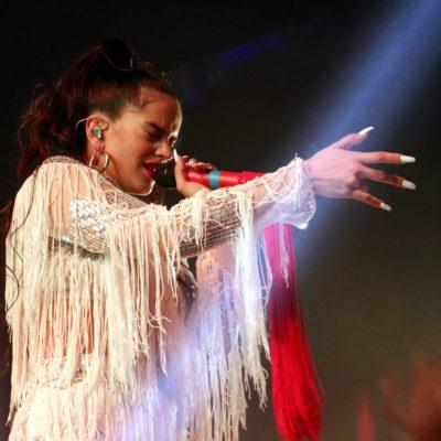 Actuació de Rosalía al Sónar, el 15 de juny del 2018 / ACN