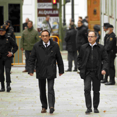 Josep Rull i Jordi Turull / ACN