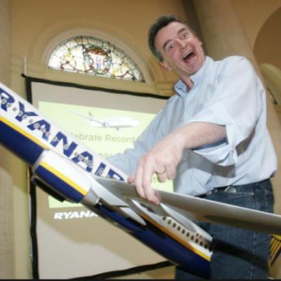El conseller delegat de Ryanair, Michael O'Leary