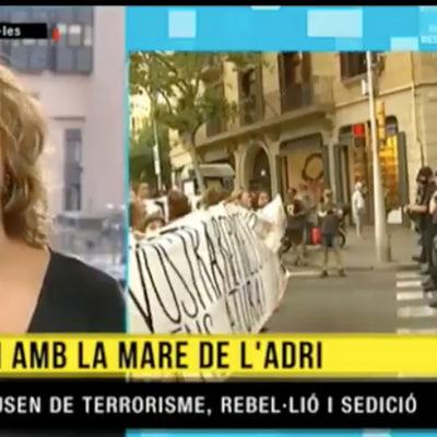 Una captura de pantalla del programa/ TV3