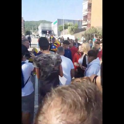 Una captura de pantalla del vídeo/ Twitter @KasperJuul_0