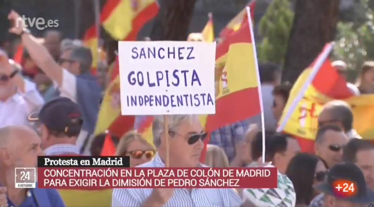 Una captura de pantalla del vídeo/ Twitter @Juanmi_News