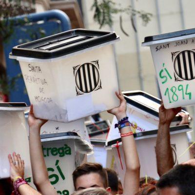 Imatge de les urnes de l1-O
